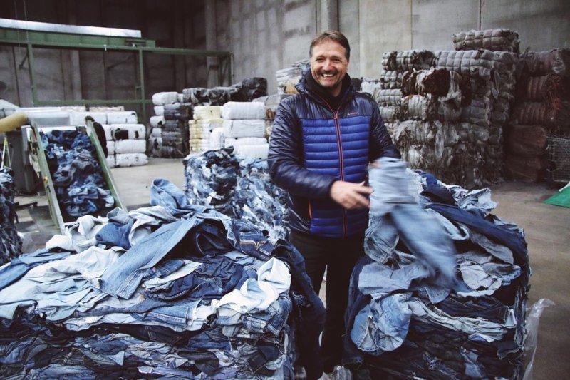Mud Jeans Bert van Son